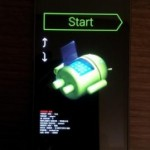 Galaxy Nexus(SC-04D)で直接CWM(ClockWorkMod)recoveryを起動する方法(fastboot flash recovery recovery-clockwork-5.5.0.2-maguro.img)。