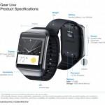 Google、Android Wear搭載のスマートウォッチ Samsung Gear Liveを発表&スペックまとめ。米国では本日よりGoogle Playにて予約開始。