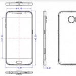 Galaxy S6の設計図がリーク。厚さはiPhone 6と同じ6.9mmでイヤフォンジャックはiPhoneと同じ下部に移動。スピーカーも下部に移動しiPhone 5sのようなドットデザインに。