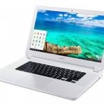 Acer、15.6インチの大型ディスプレイを搭載する「Chromebook 15」を発表。価格は249.99ドルから。