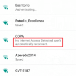 Android 5.1 Lollipopではインターネット接続できないWi-Fiを認識して記憶し、その後は再度自動で接続させない仕様に変更。