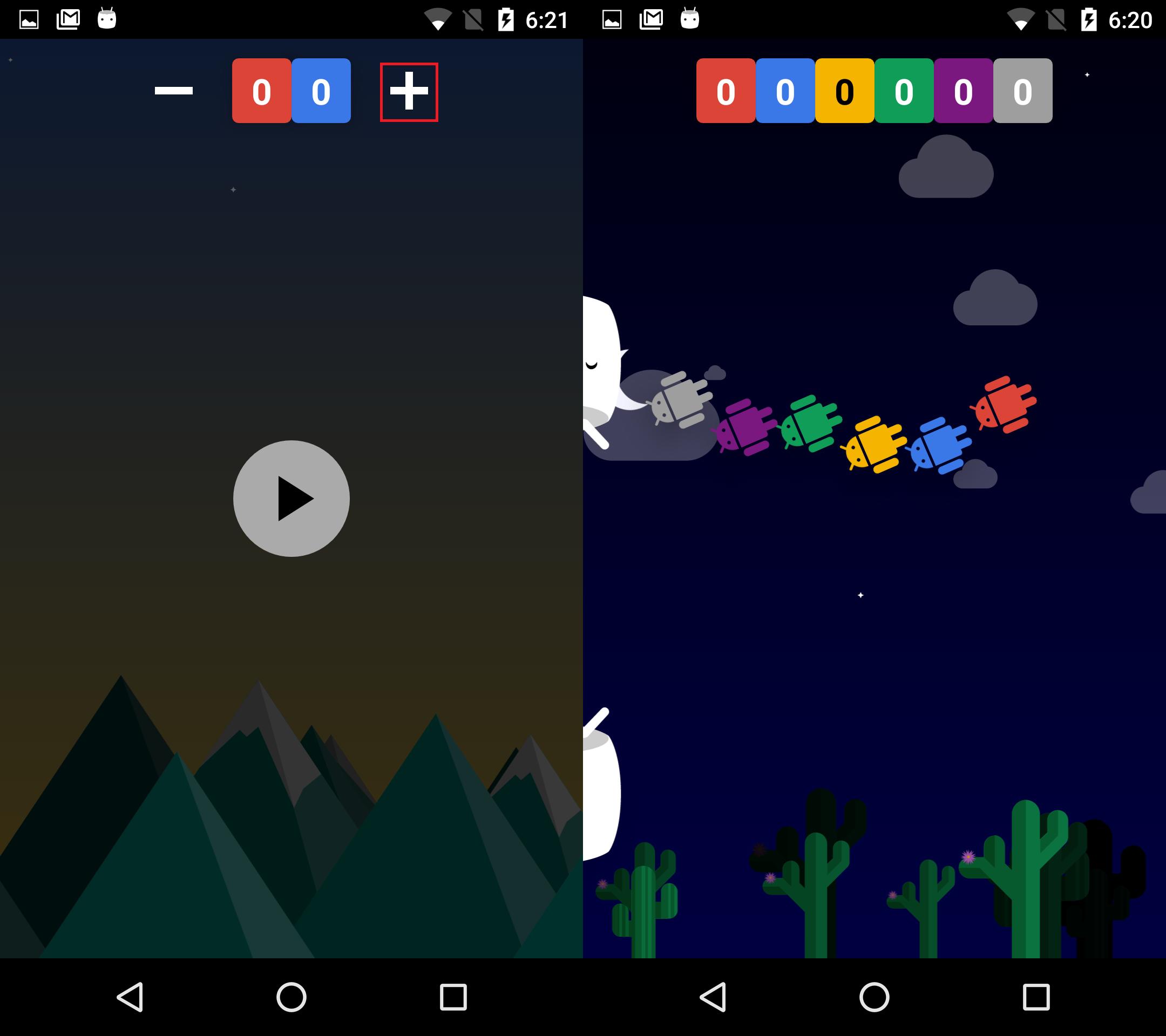 Android 6.0のイースターエッグ。Flappy bird風のゲームが復活