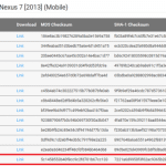 Android6.0のファクトリーイメージとOTAアプデが本日よりNexus5/6/7(2013)/9/Player向けに配信開始。