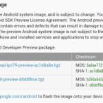 Android Lの開発者用プレビュー版のイメージファイルがNexus5、Nexus7 2013向けにリリース。新OSを試すことができます。