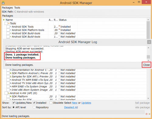 android-sdk-install-windows834