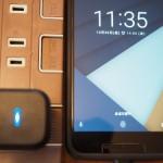 Nexus5XはQuick Charge2.0対応充電器で急速充電が可能。