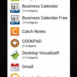 AppWidgetPicker:Android(アンドロイド)のウィジェットをまとめることで、ウィジェット一覧を見やすくする必須アプリ(要Root)。