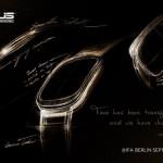 Asus、IFA 2014で9月3日に発表するAndroid Wear搭載スマートウォッチのデザインスケッチを公開。角が丸い四角のデザインで厚さは抑えられている模様。