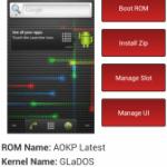 Galaxy Nexus(SC-04D)をBoot Managerを使ってデュアルブート化し、好きなROMを切り替えて使う方法。