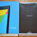 新型Nexus7(2013)購入レビュー。
