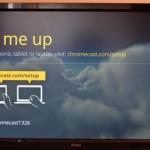 Chromecast(クロームキャスト)をリセットして初期化する方法。
