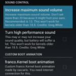 Galaxy Nexus(SC-04D)にfranco.kernel Milestone 1を導入&変更点まとめ。