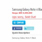 Galaxy Note 4の詳細なスペックが判明。5.7インチ1440x2560、RAM4GBなど。プロセッサはSnapdragon 805とExynos 5433の2バージョンが存在し、価格は約83,000円になる?