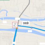 Googleマップがアップデート。目的地までの別のルートをリアルタイムで「○分早い」と具体的な短縮時間付きで表示し、より短時間で到着するためのナビが可能に。