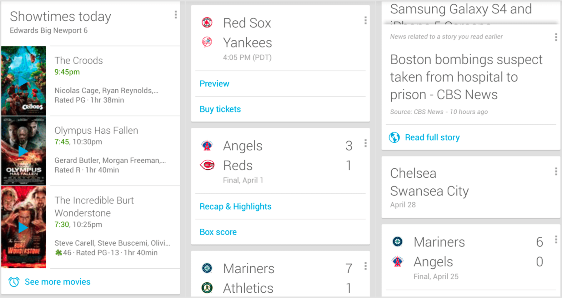 Google Nowが40種類以上のサード...