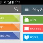 Google Playストア5.0のデザインと新機能が判明。マテリアルデザインが採用され、デバイスごとにまるごとアプリのバックアップ・復元が可能になる模様