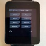 LG G Watchのカスタムリカバリ TWRPがリリース。
