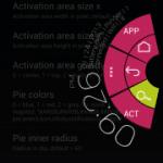 LMT Launcher v1.8リリース。Pie上部に時間と通知を表示する機能などが追加。