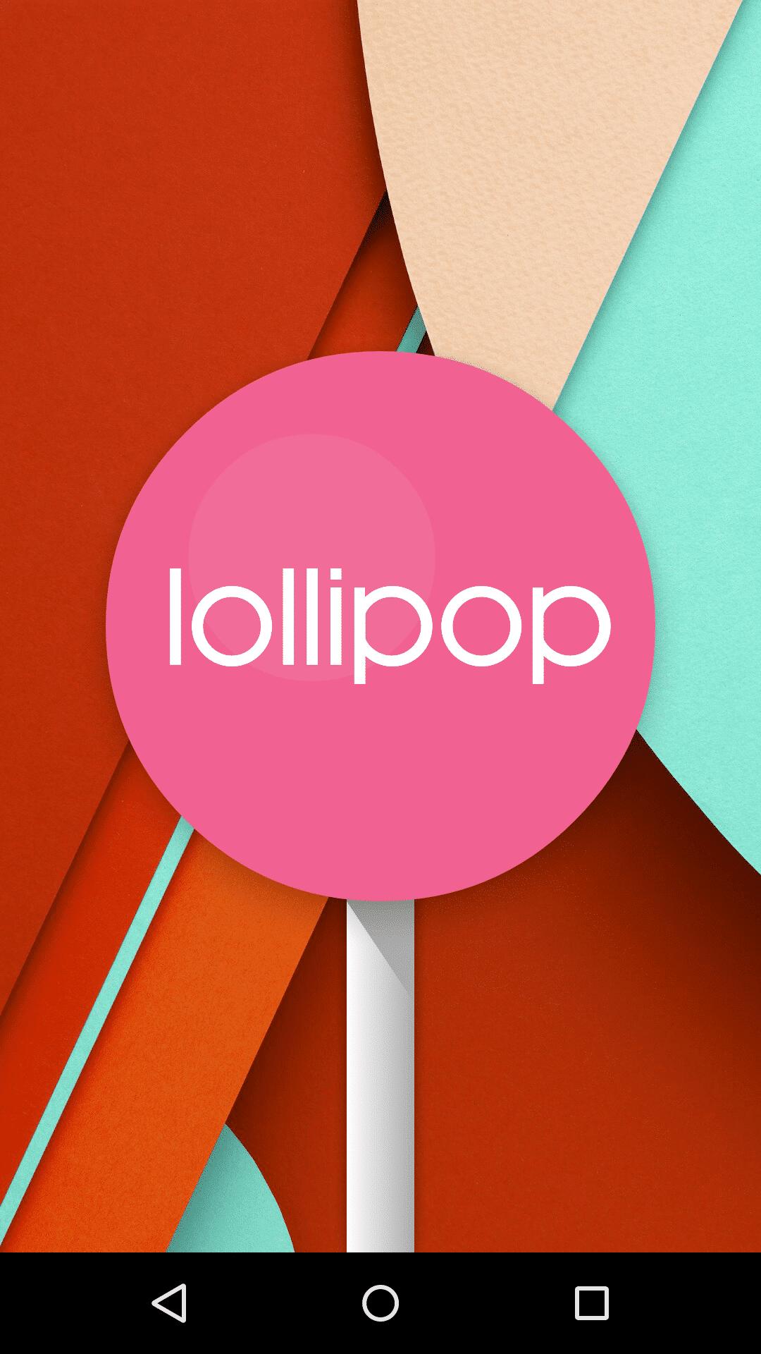 イースターエッグ. Android 5.0 Lollipop