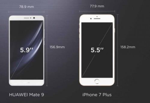 mate9-iphone7plus-size