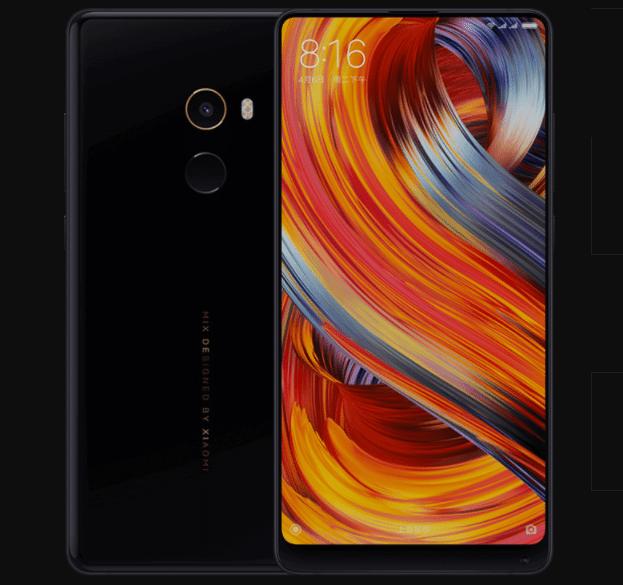 iPhoneXとの簡単比較!中国シャオミ会社がMIX2発表された!