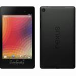 新型Nexus7のプレス画像がリーク。