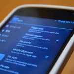 Nexus 4 純正バンパーケース(ホワイト)レビュー。