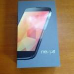 Nexus 4を購入。早速開封してみた。