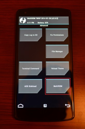 nexus5-ubuntu-touch-multirom2