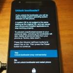 Nexus5X/Nexus6Pのブートローダーアンロック方法・手順。
