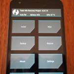 Nexus5X/Nexus6PにカスタムリカバリTWRPを導入する方法
