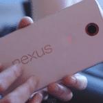 Nexus6の鮮明なハンズオン動画。Nexus6のサイズ感やバックカバーの質感が確認できます。