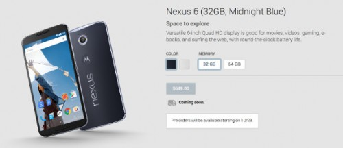 nexus6-preorder-october-29th-usa