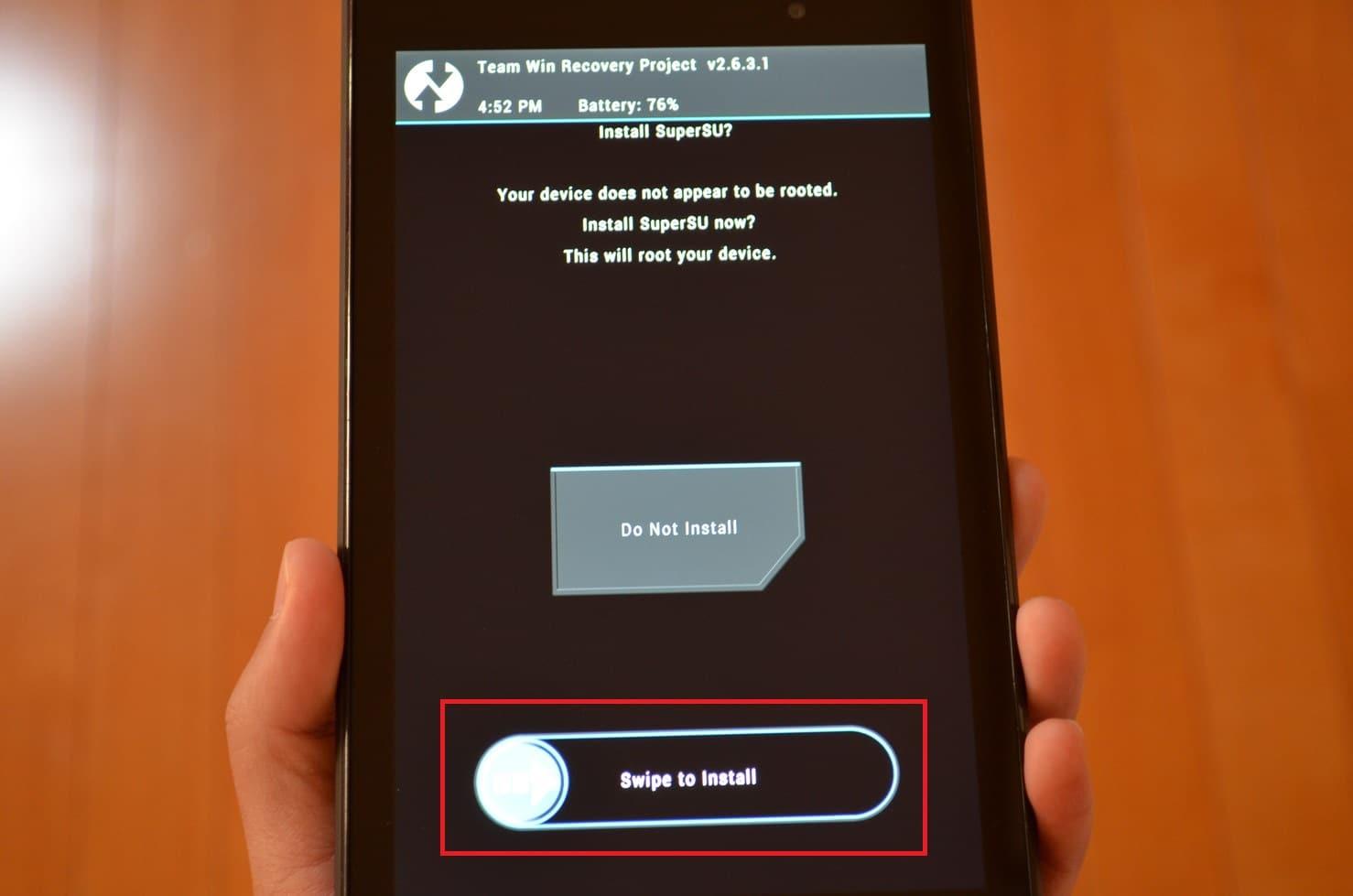新型Nexus7(2013) Android4 4のRoot化方法・手順。