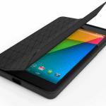 Google純正新型Nexus7(2013)用フォリオバンパーケース販売開始。カバーの開閉で画面オン/オフに対応