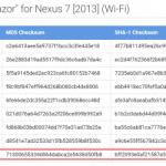 Nexus7(2013) Wi-Fiモデル、Nexus10向けにAndroid 5.0.2 (LRX22G)のファクトリーイメージが公開。