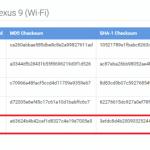 Nexus9 Wi-Fiモデル向けにAndroid 5.1.1のファクトリーイメージが公開。