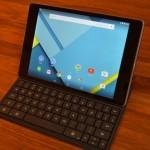 Nexus 9 キーボード付ケース購入レビューと使い方、設定方法まとめ。