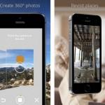 Google、iOS向けにPhoto Sphereアプリをリリース。iPhone 4s以降とiPadで360°のパノラマ写真を撮影でき、Google Mapにアップすることも可能。