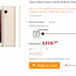 Xiaomi Redmi Note 4がGearBestにて販売開始。購入時の総額まとめ