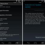 Android4.4.2(KOT49H)がNexus5/Nexus7(2012/2013)/Nexus4/Nexus10に配信開始。手動アップデート用ファイルあり。