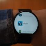 ShazamがAndroid Wearスマートウォッチに対応し、1タップで今流れている曲名の検索が可能に。