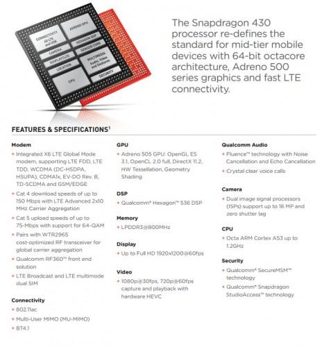 snapdragon430