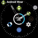 Swipify-Multitasker & Launcher:Android Wearスマートウォッチで、アプリ起動履歴から素早くアプリを起動したりアプリドロワー機能を使えるアプリ。