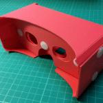 Google cardboard互換3Dのぞきメガネ「タオバイザー」に出資してみた。目の間隔調整が可能でメガネをかけたままでも使えるのが特徴。
