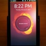 Ubuntu for PhonesをGalaxy Nexus(SC-04D)にインストールする方法と使用感やUIのレビュー。