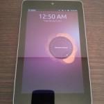 Ubuntu for TabletsをNexus7にインストールする方法・手順。