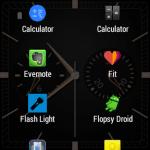 Wear Mini Launcher:Gear LiveやLG G Watchの左上からスワイプしてアプリ一覧を表示し、すぐにアプリを起動できる必須アプリ。