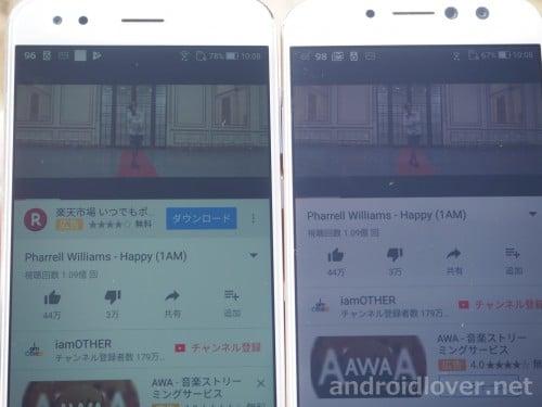 左:ZenFone4 右:ZenFone4 Selfie Pro